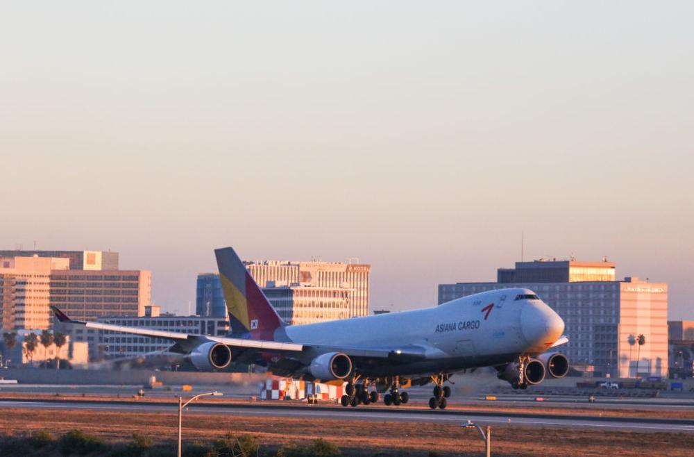 Asiana Boeing 747 Getty