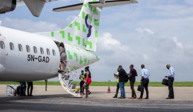 Green Africa first flight