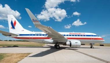 Envoy Air E170 American Eagle retro livery