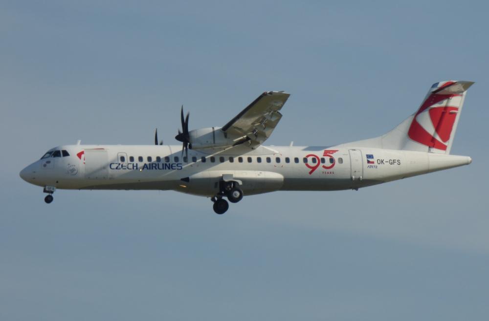 Czech Airlines ATR72