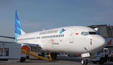 Garuda Indonesia  (GIA) 737-800 K64870