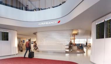 Lounge Air France 3