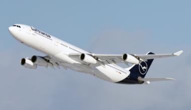 Lufthansa, Afghanistan, Airbus A340, Evacuation