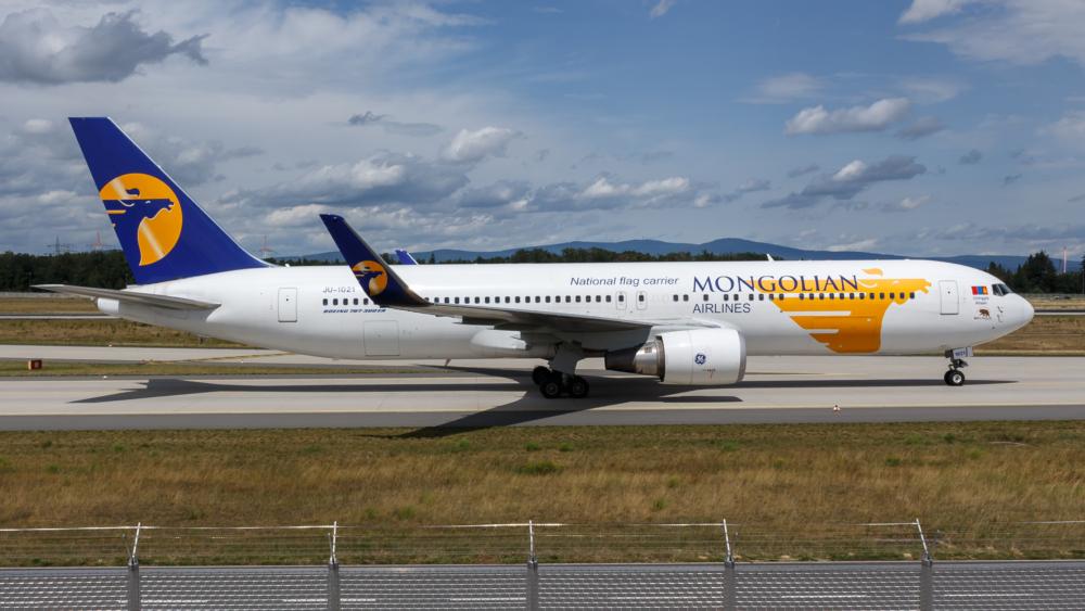 Mongolian Airlines MIAT 767-300ER