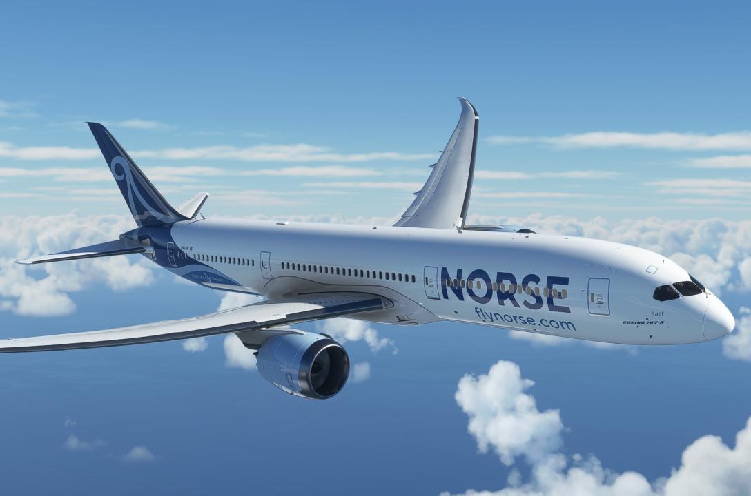 Norse Atlantic Airways, Branding, Livery