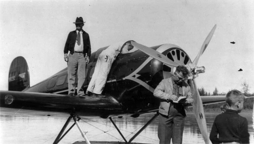 Wiley Post and Will Rogers