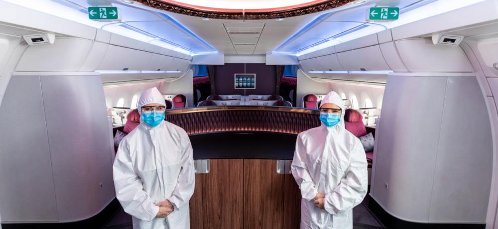Qatar Airways Masks