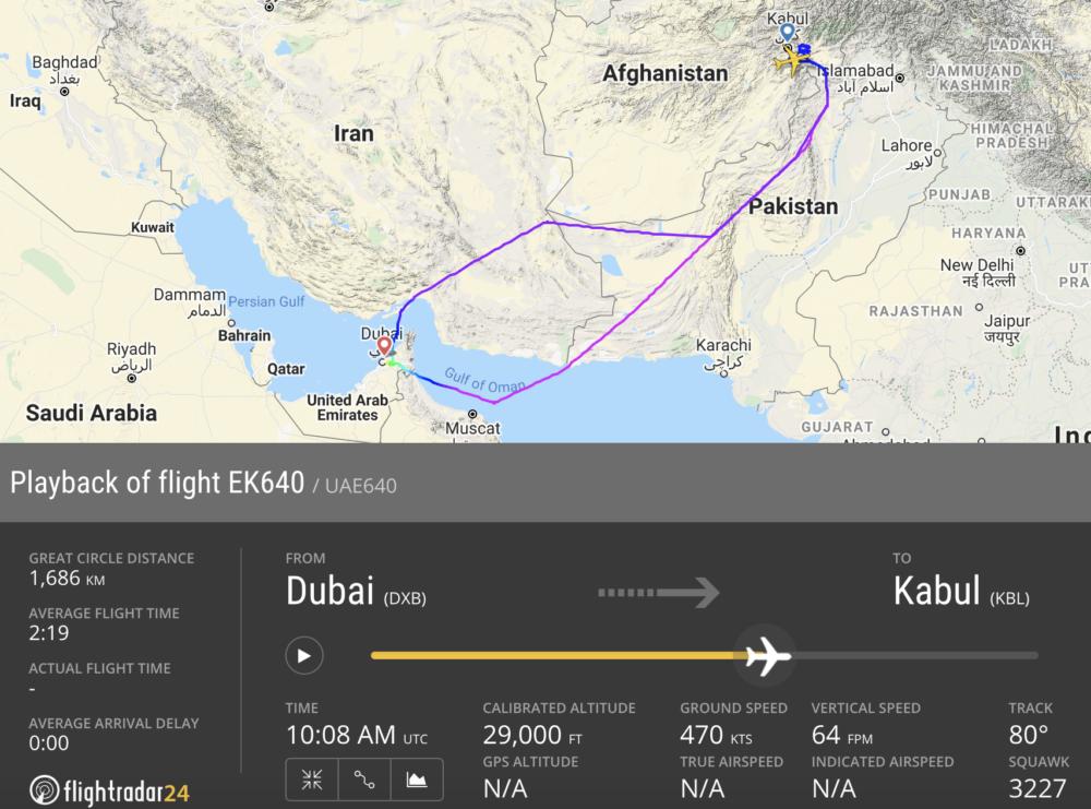 Emirates Diversion