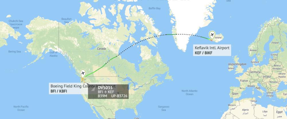 SCAT 737 MAX 9