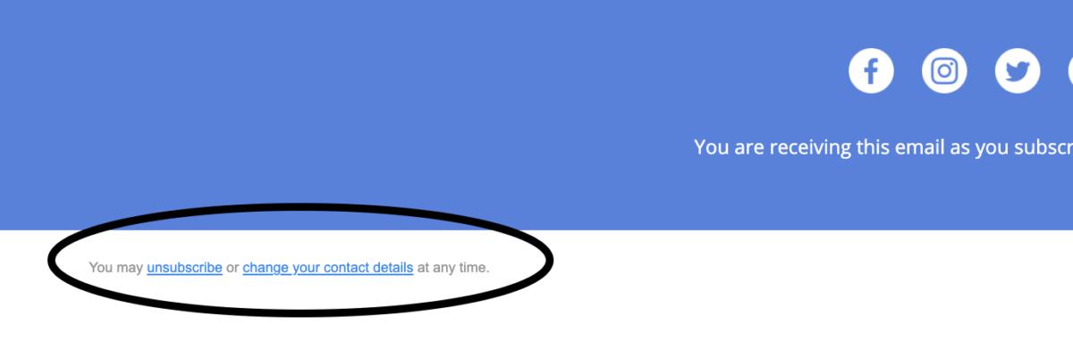 Email Newsletter FAQ