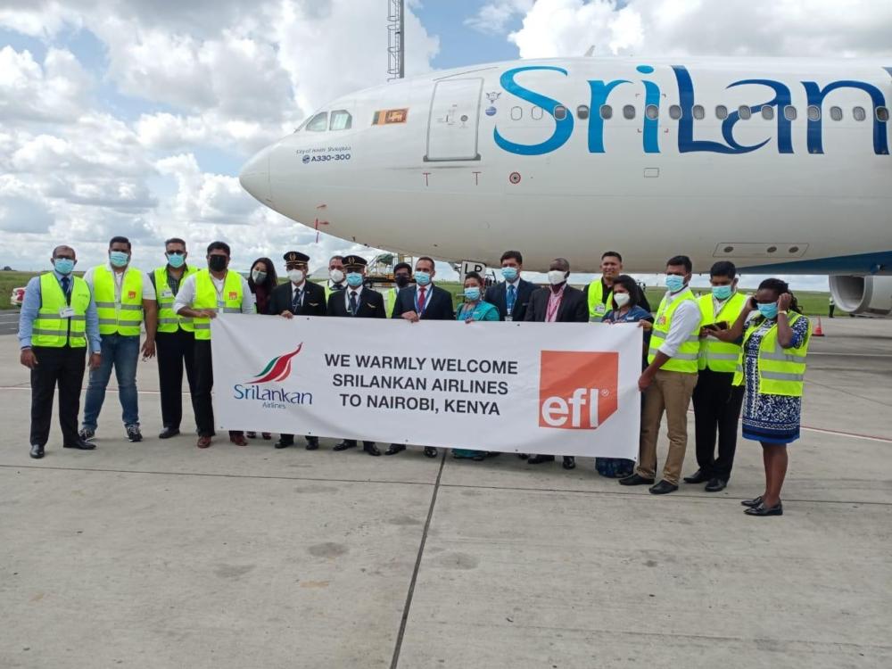 SriLankan Airlines to Nairobi