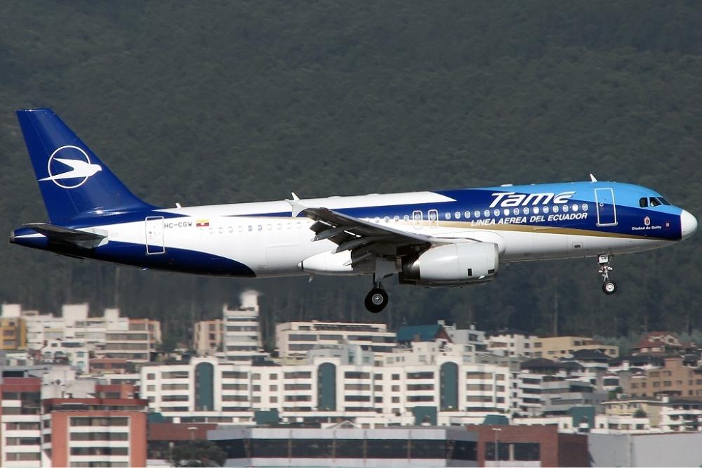 TAME Ecuador Airbus A320