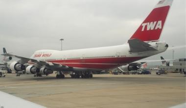 TWA Boeing 747-200