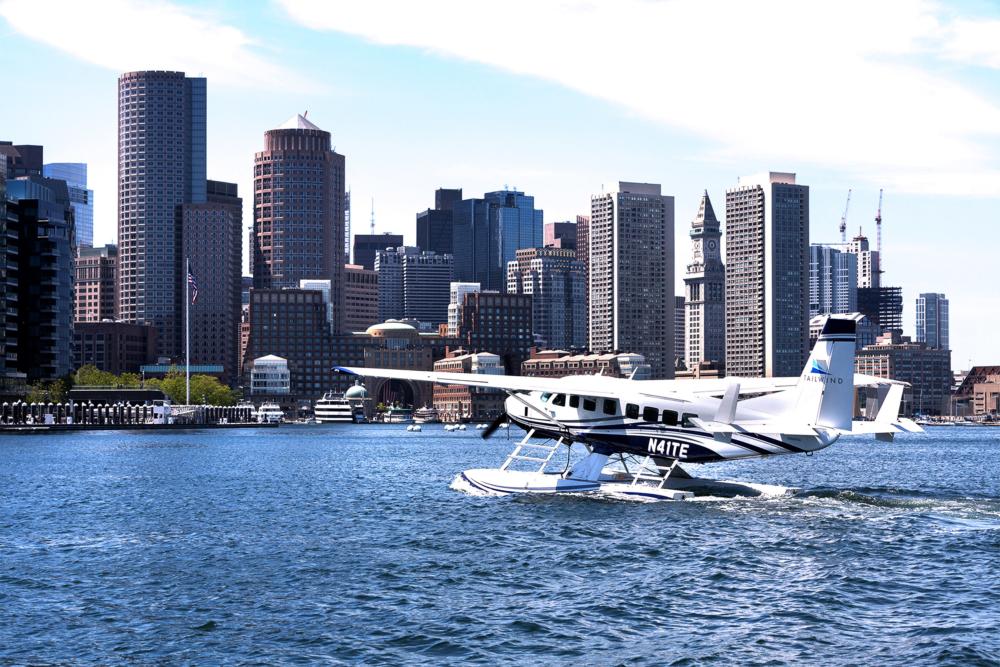 Tailwind Air Cessna Grand Caravan EX Boston Harbor