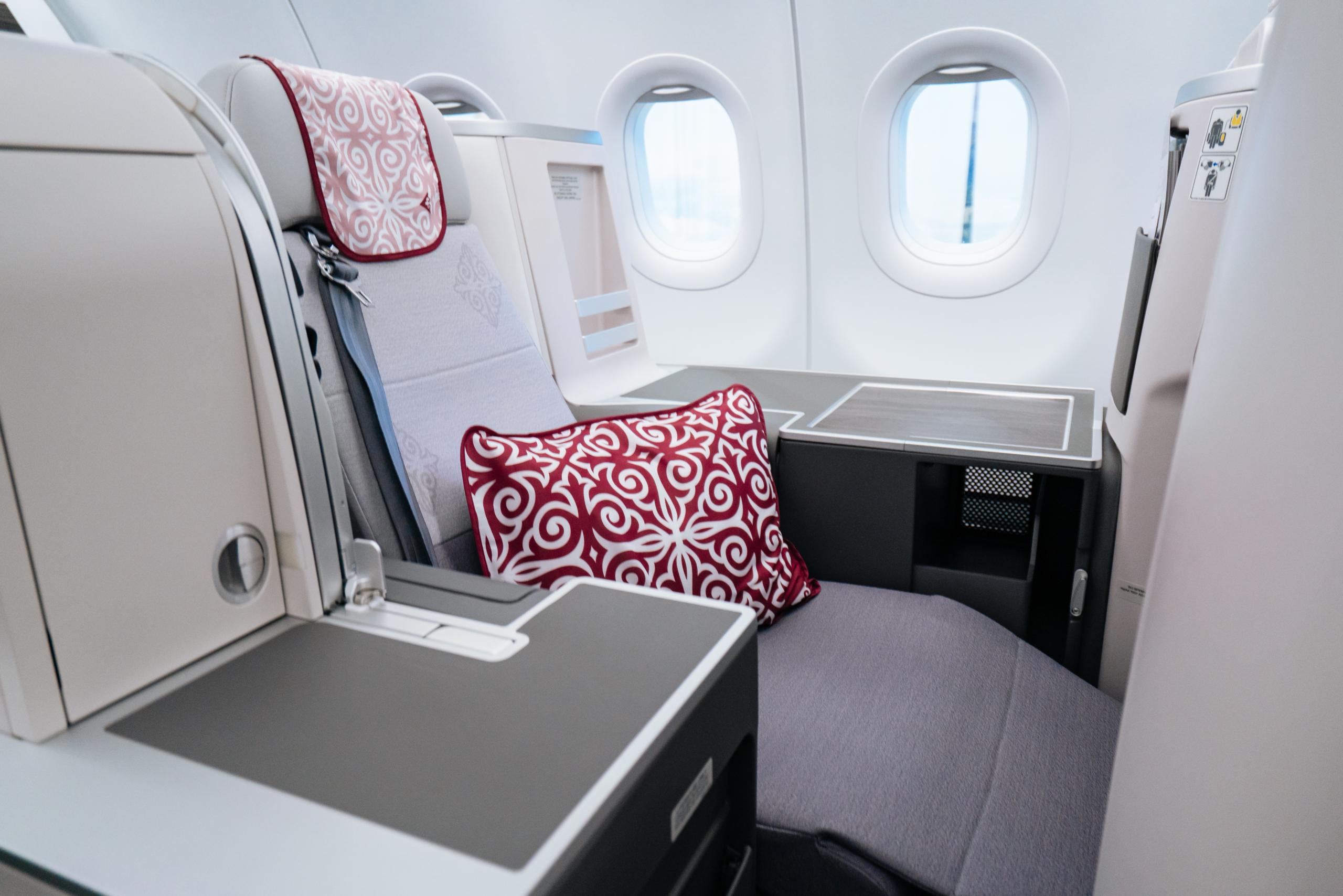 Air Astana, First Class, Airbus A321LR