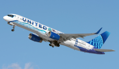 United Airlines (Her Art Here-California Livery) Boeing 757-224 N14106 (2) (1)
