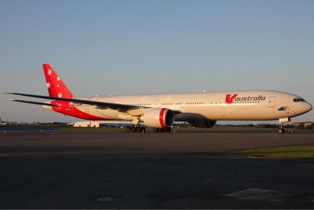 V Australia Boeing 777
