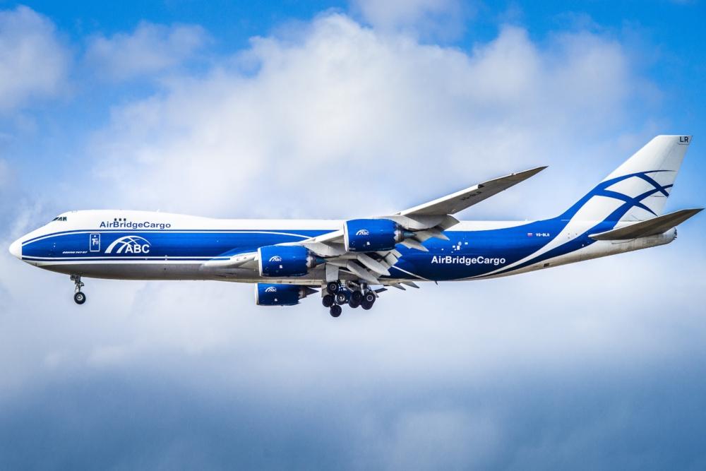 Air bridge cargo 747-8