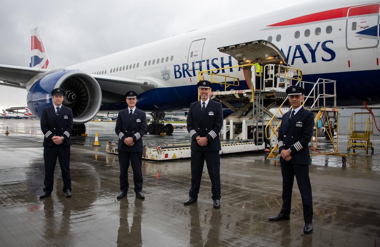 IAG Cargo, Vaccines, British Airways