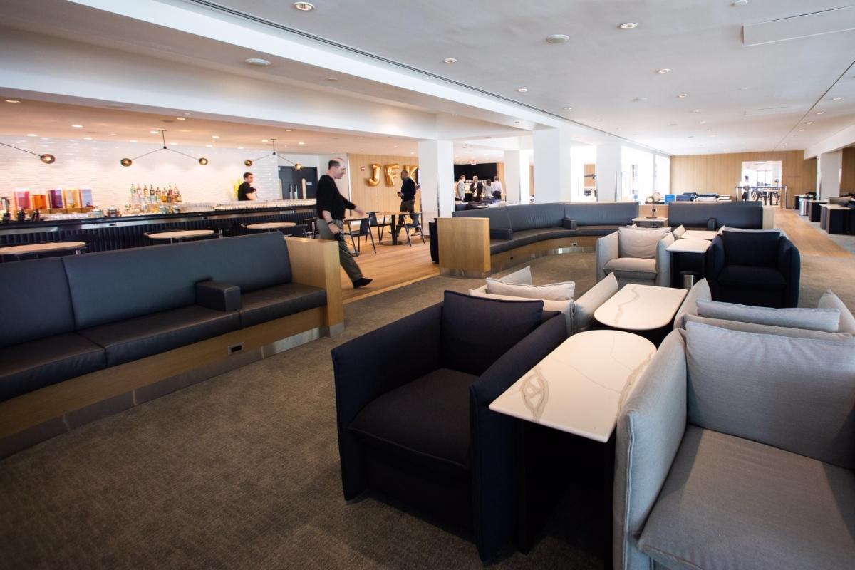 BA JFK lounge