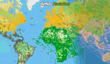 RadarBox, Navaids, waypoints