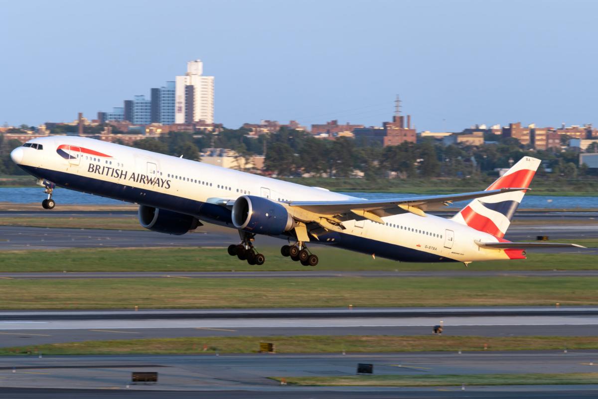 British Airways 777 JFK