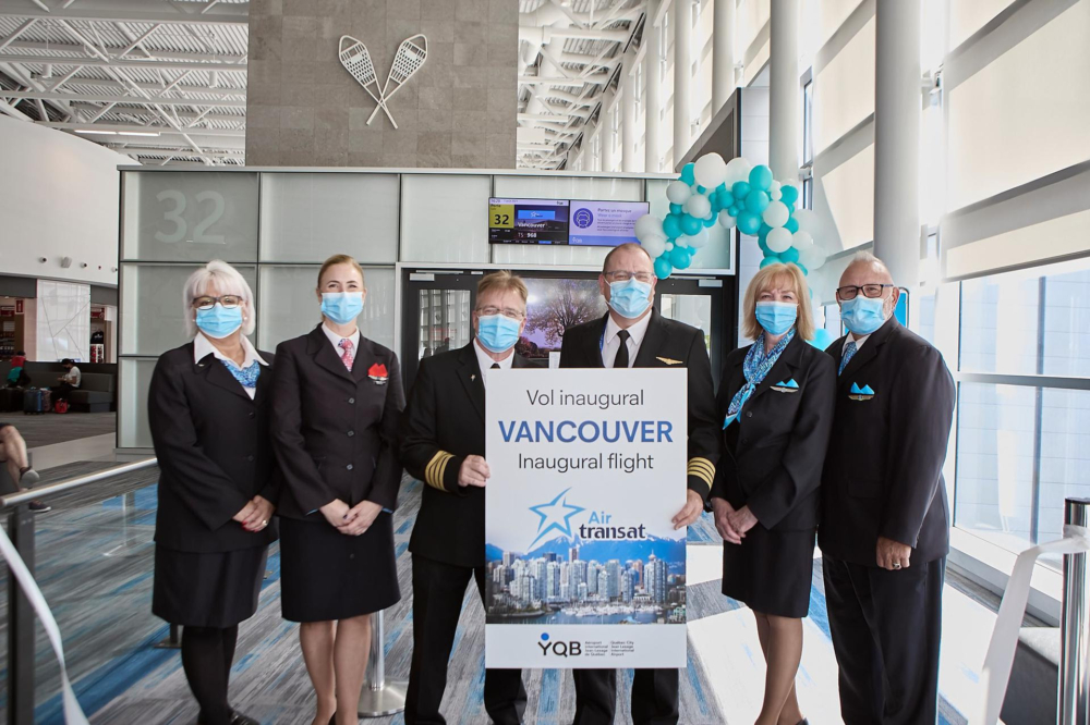 Air Transat Québec City Vancouver