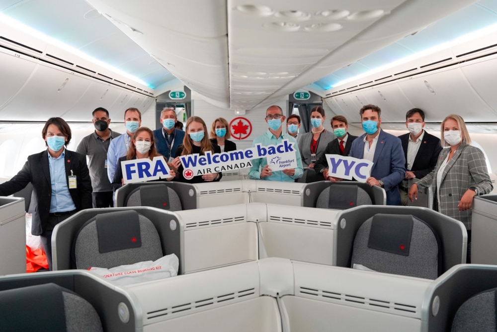 Air Canada Frankfurt