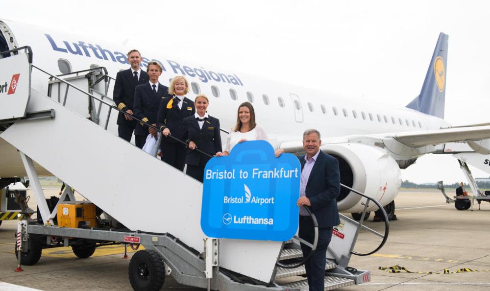 Lufthansa Bristol