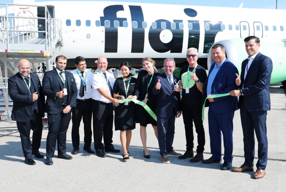 Flair Airlines Charlottetown