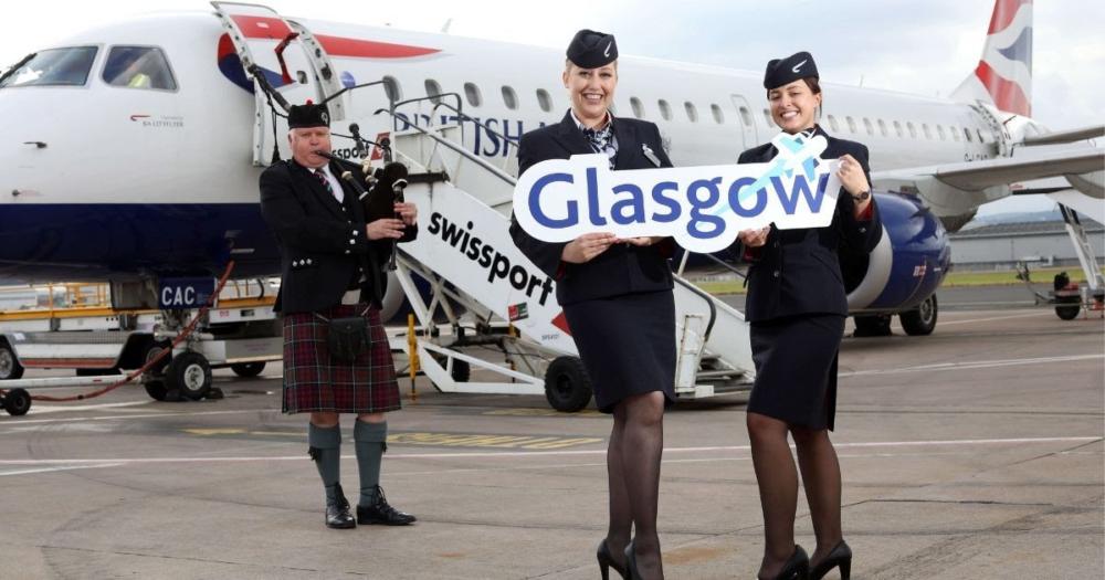 BA CityFlyer Belfast Glasgow
