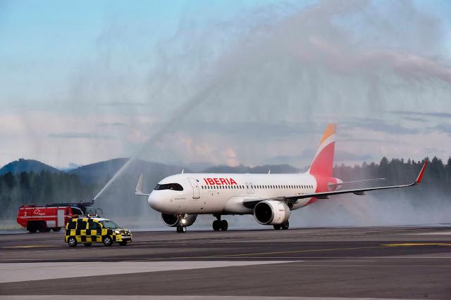 Iberia to Ljubljana