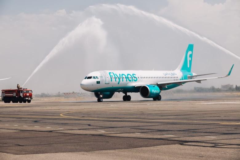 flynas to Tashkent