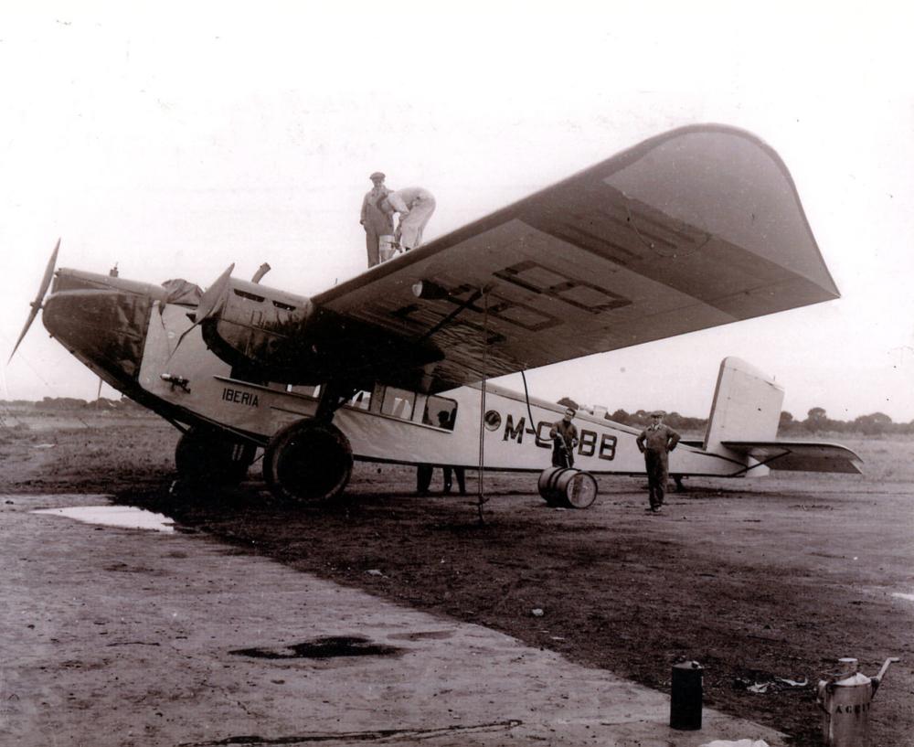 Iberia Rohrbach R-VIII Roland
