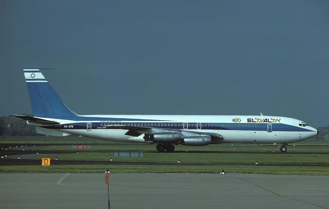 El Al, Lufthansa, Boeing 707, Auction