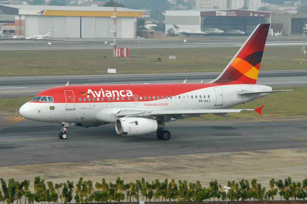 Avianca Brasil Airbus A318