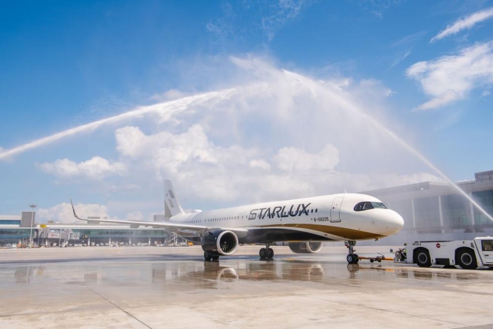 Starlux Taipei to Singapore