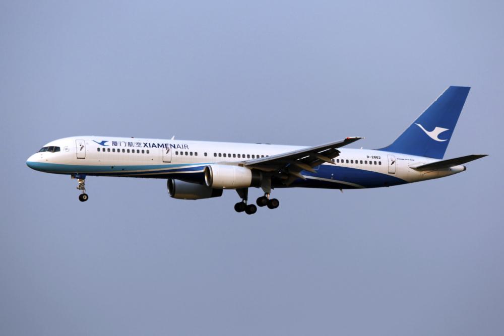 Xiamen Airlines Boeing 757
