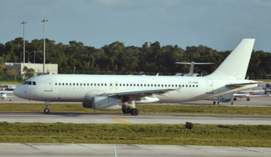 Airbus A320 White Tail