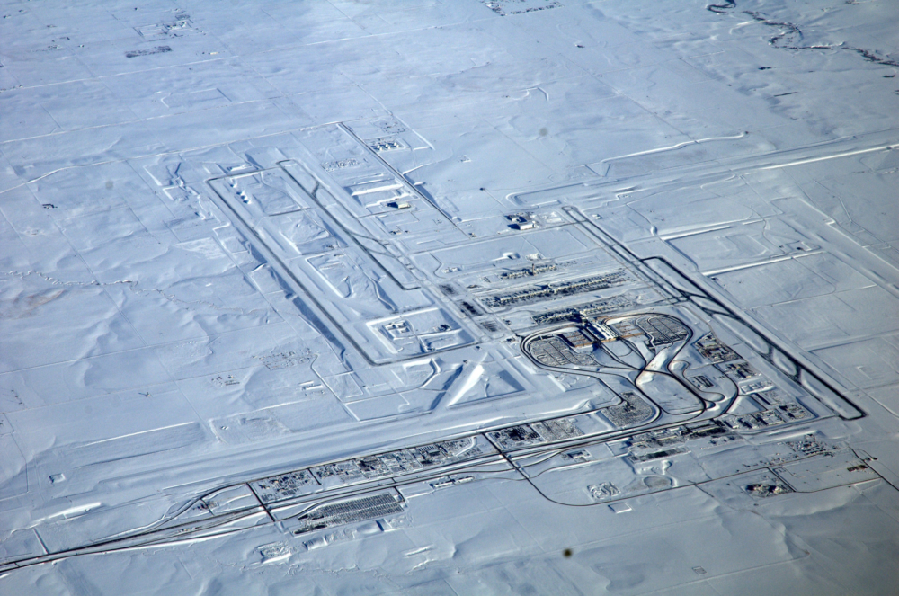 Denver Airport Snow