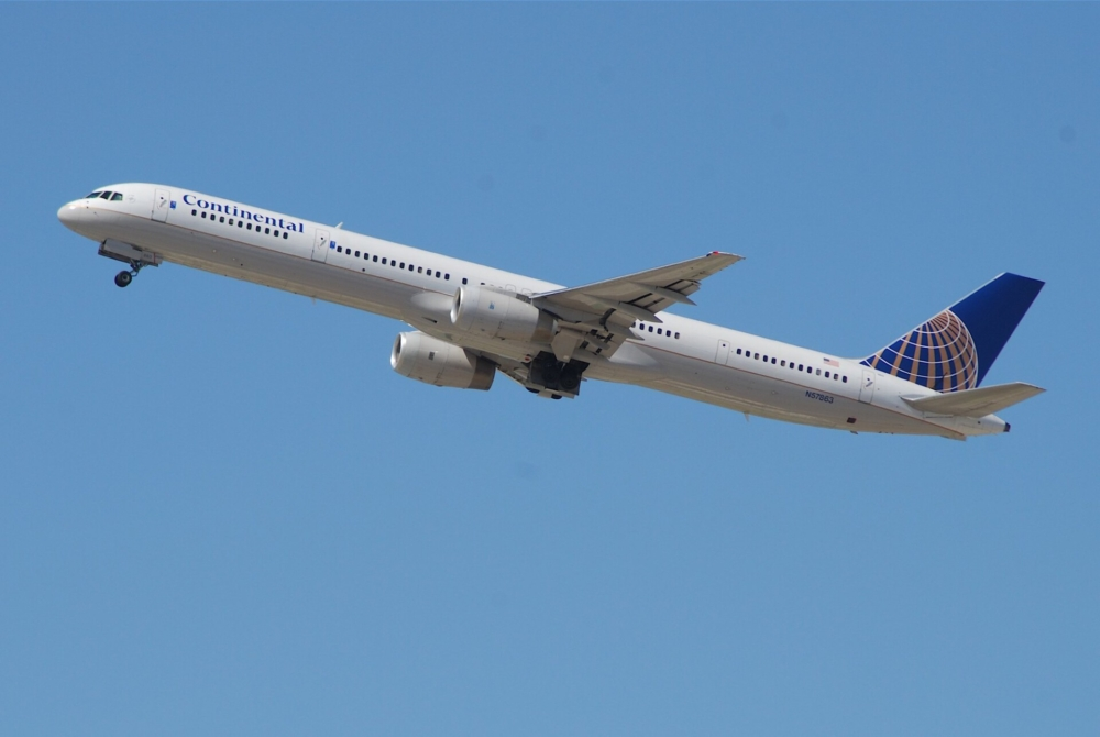 Continental Airlines Boeing 757-300
