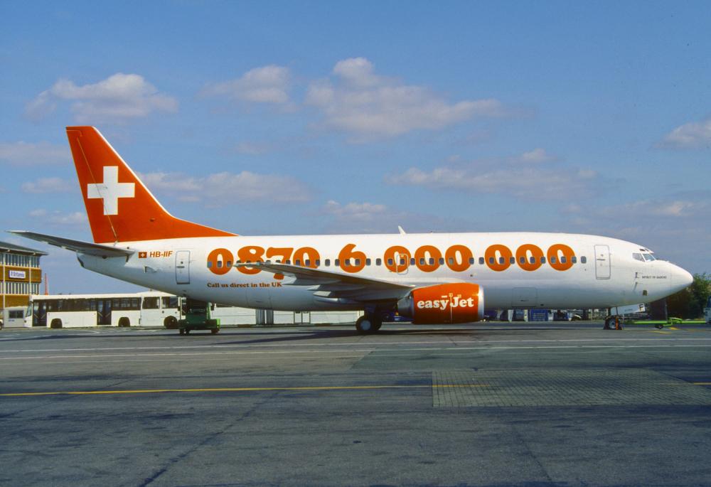 easyjet Switzerland Boeing 737
