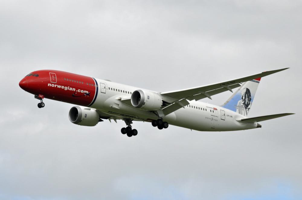Norwegian B787-9