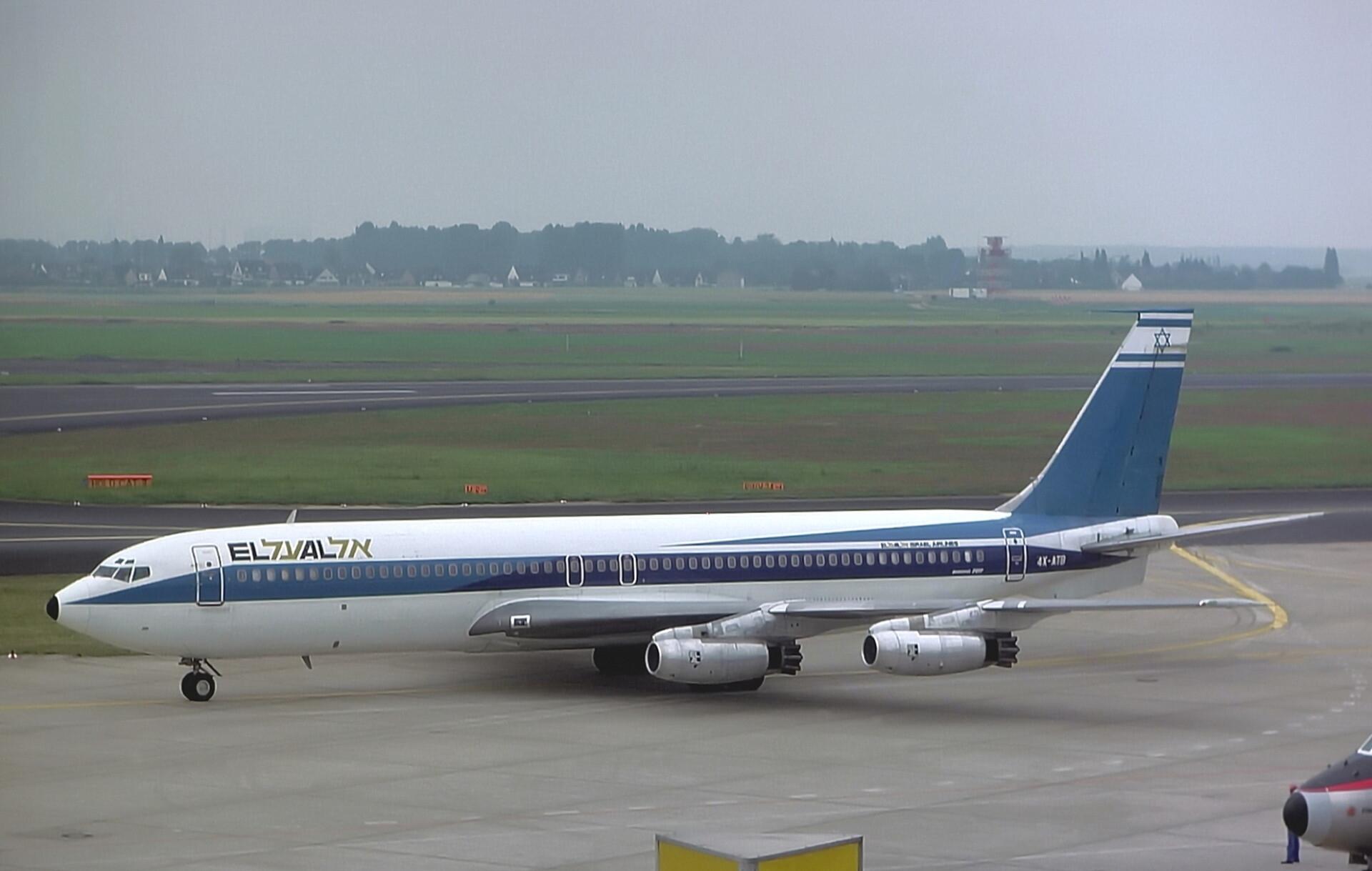 El Al, Boeing 707, Lufthansa