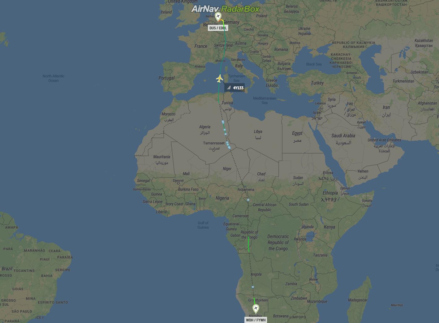 Eurowings Discover, Dusseldorf, First Flight