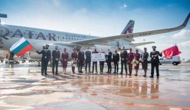 Qatar A320 Sofia