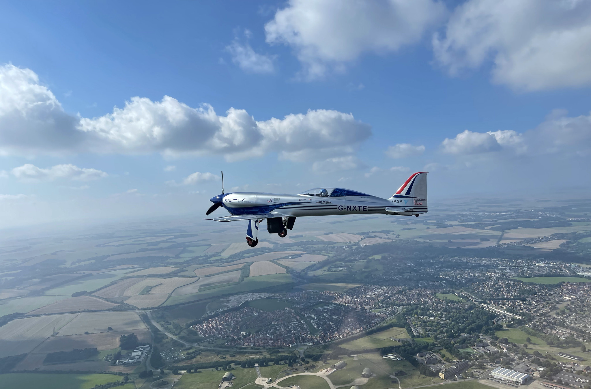 Rolls Royce's All Electric Plane Completes Its First Flight