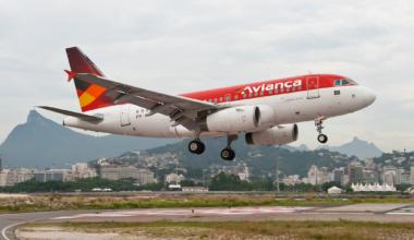 Avianca Airbus A318