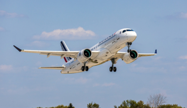 Air France, Airbus A220, First Delivery