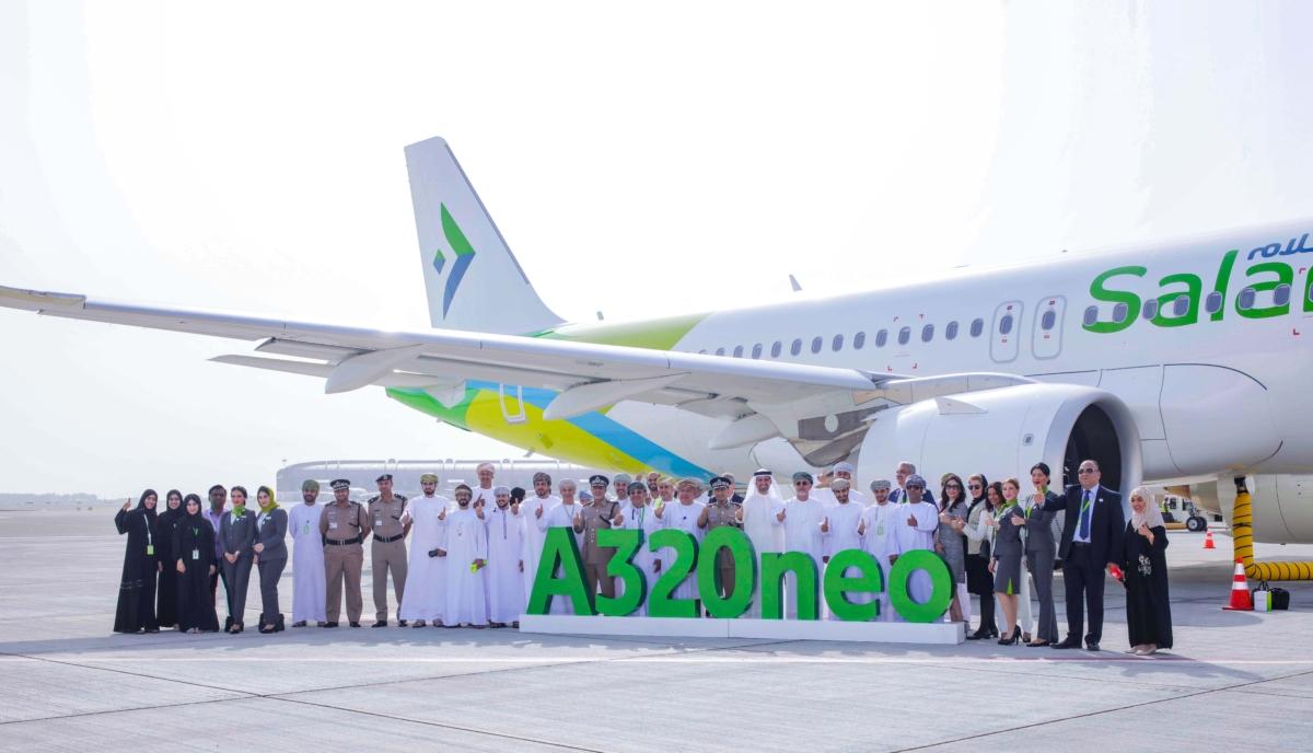 SalamAir Airbus A320neo